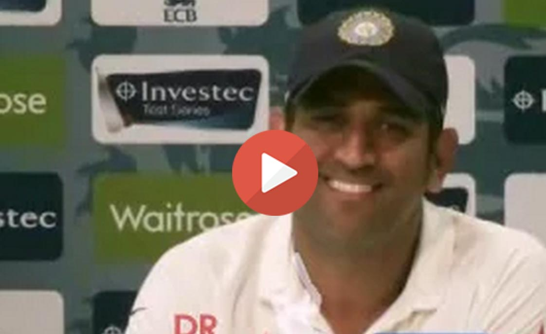 See what our captain MS Dhoni had to say after team's historic win at Lord's