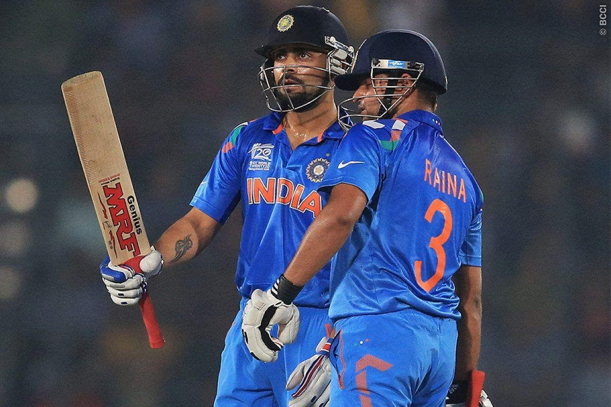 Kohli, Raina can pose real threat to Lanka: Muttiah ...