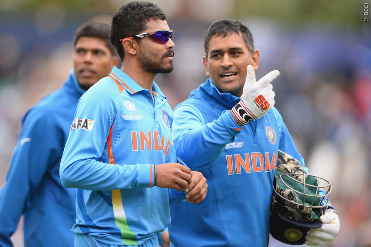 Jadeja Credits MS Dhoni, Virat Kohli for Rise to Top