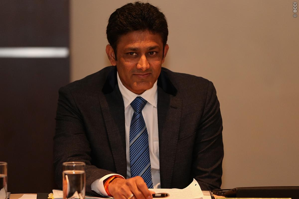Anil Kumble in Fray to Become Indian Cricket Team Coach