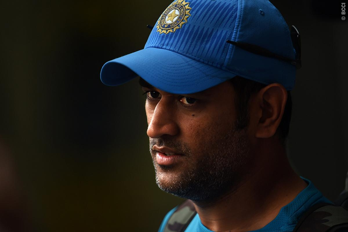 MS Dhoni on his United States visit asks fans to support Team India.