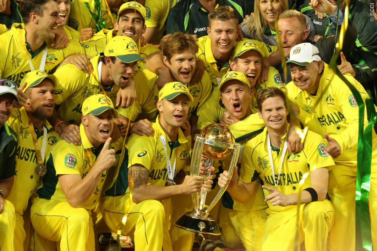 Fitting farewell for Michael Clarke as Australia clinch the World Cup record 5th time
