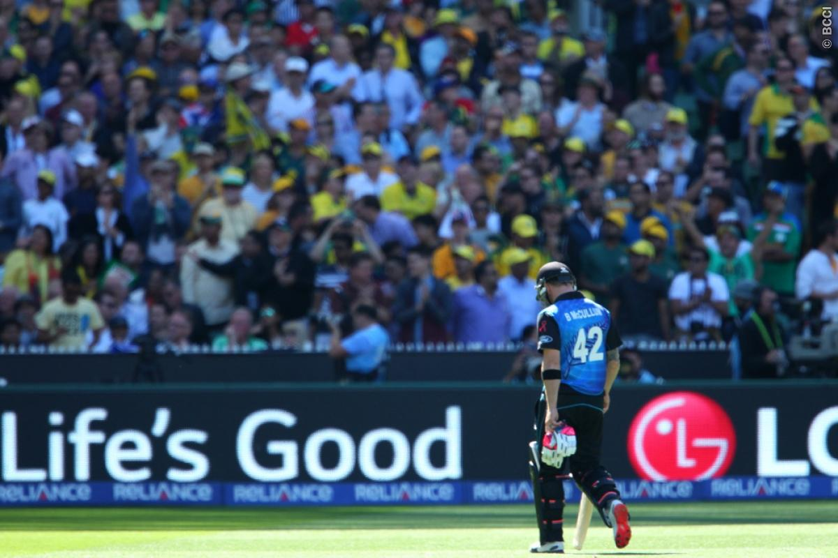 Brendon McCullum named captain of the 'team of the ICC Cricket World Cup 2015'