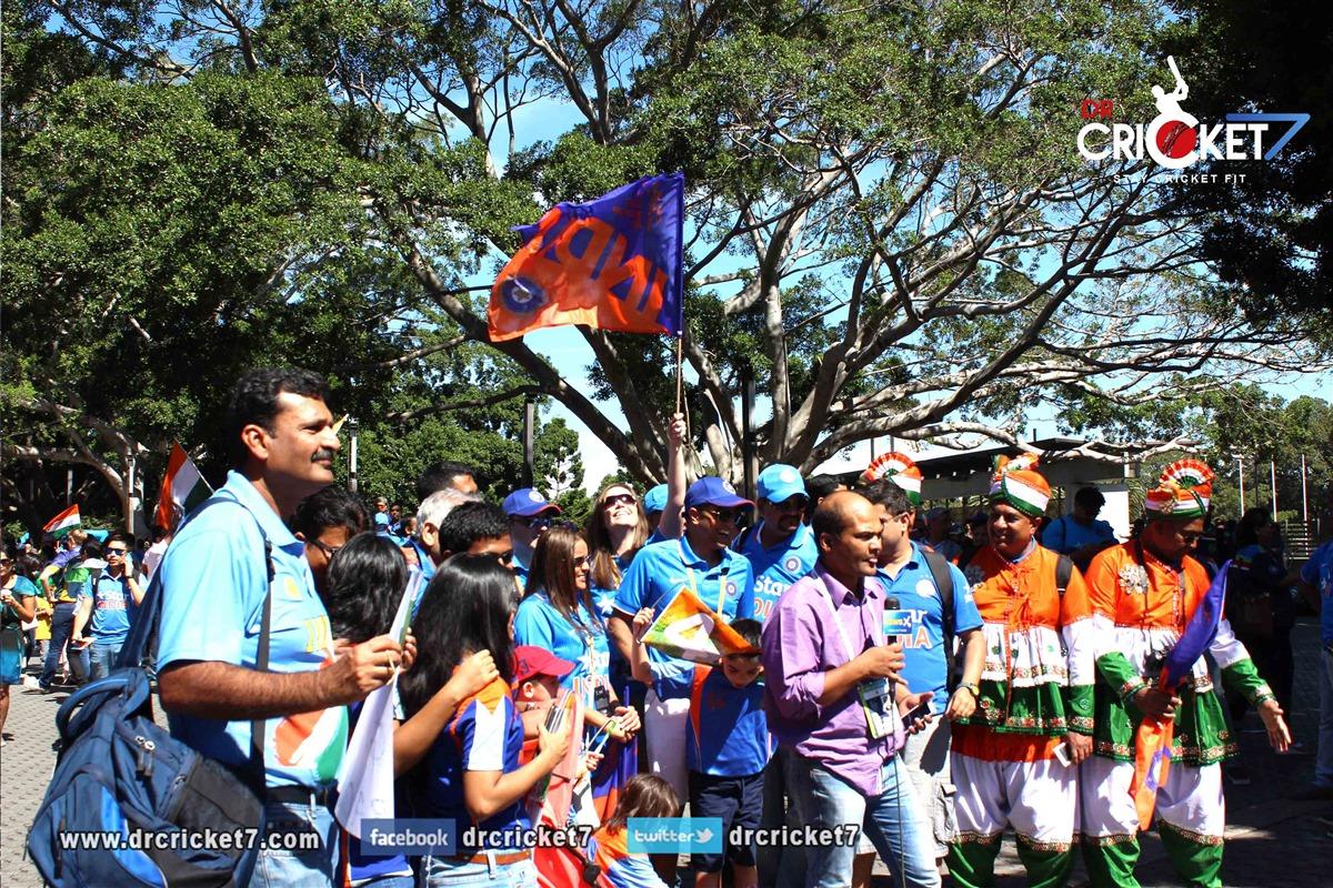 Exclusive images of Team India fans in Australia