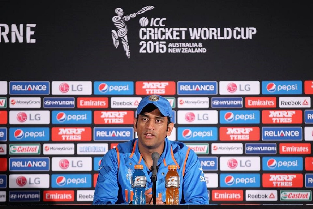 Watch MS Dhoni press conference after semifinal loss [VIDEO]