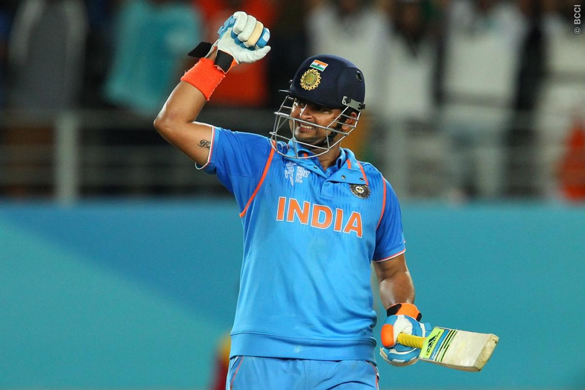 Suresh Raina, MS Dhoni make six out of six for India in ...