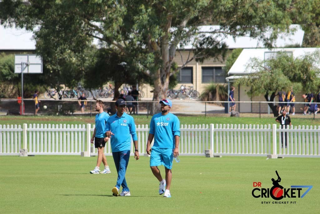 Team India practicing ahead of facing West Indies in Perth [VIDEO]