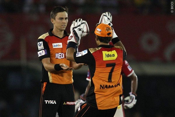 Trent Boult, David Warner take Sunrisers Hyderabad to stellar win in Mohali