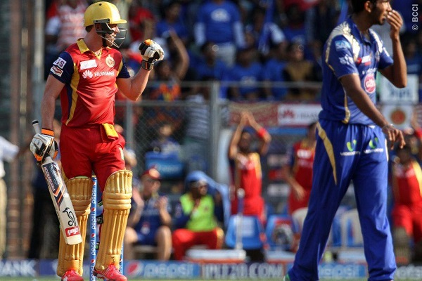 'Fantastic' ton-up de Villiers, magnificent Kohli propel Royal Challengers over Mumbai Indians