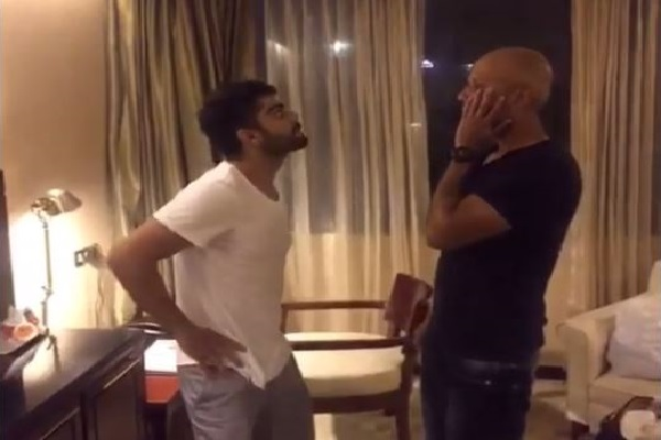 This Dubsmash video of Virat Kohli is simply amazing!