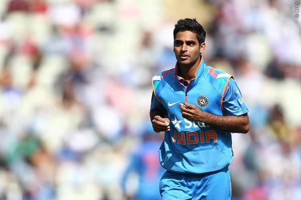 Bhuvneshwar Kumar Strikes First Ball In Memorable Debut For India Against Pakistan [VIDEO]