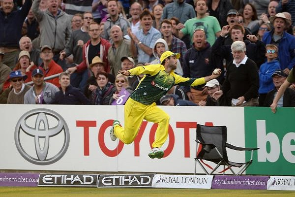 Watch Glenn Maxwell Stunning Catch Against England In 4th ODI [VIDEO]