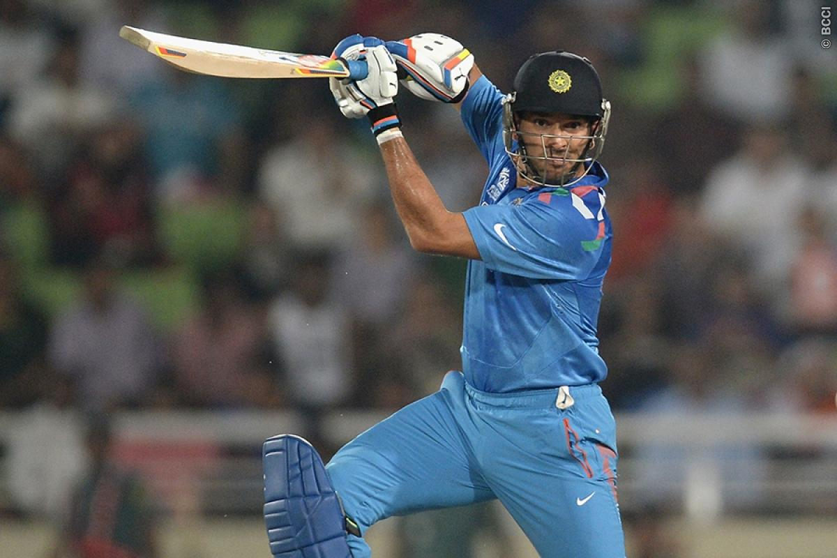 Champions Trophy: Yuvraj Singh to miss first warm-up match against NZ