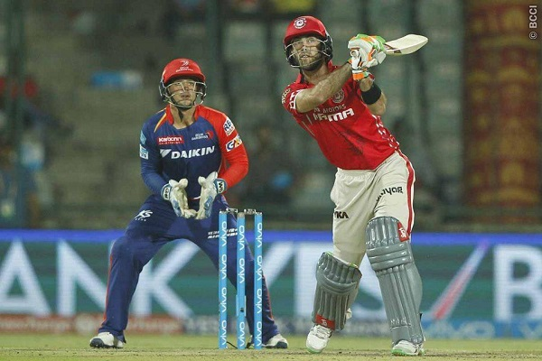 Kings XI Punjab's Glenn Maxwell reprimanded for breaching IPL Code of Conduct