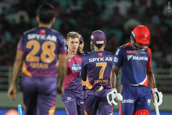 Spinners Help Rising Pune Supergiants in Spoiling Delhi Daredevils' Party