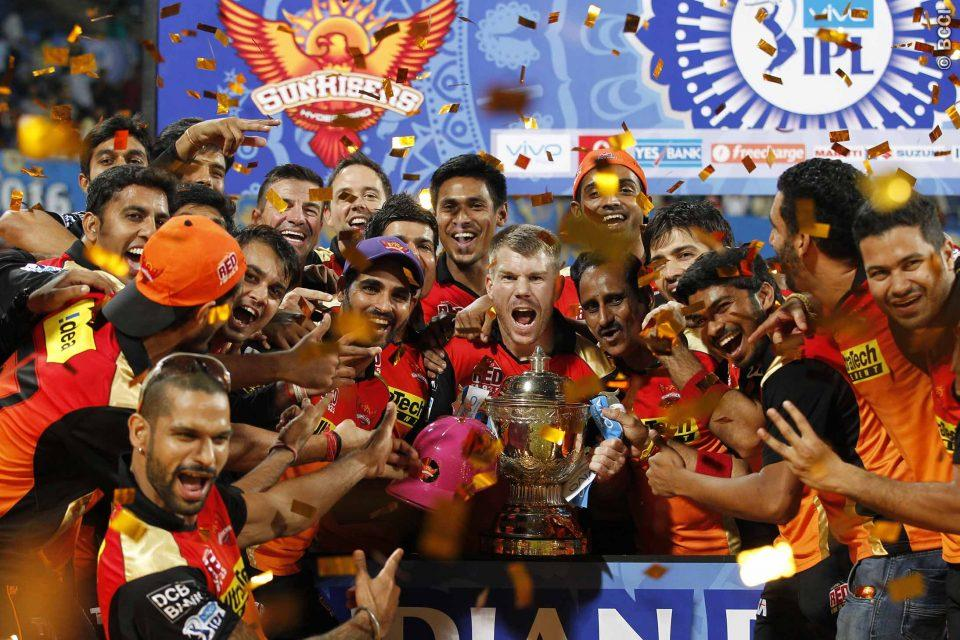 """Underdogs"" Sunrisers Hyderabad Clinch Maiden IPL Title"