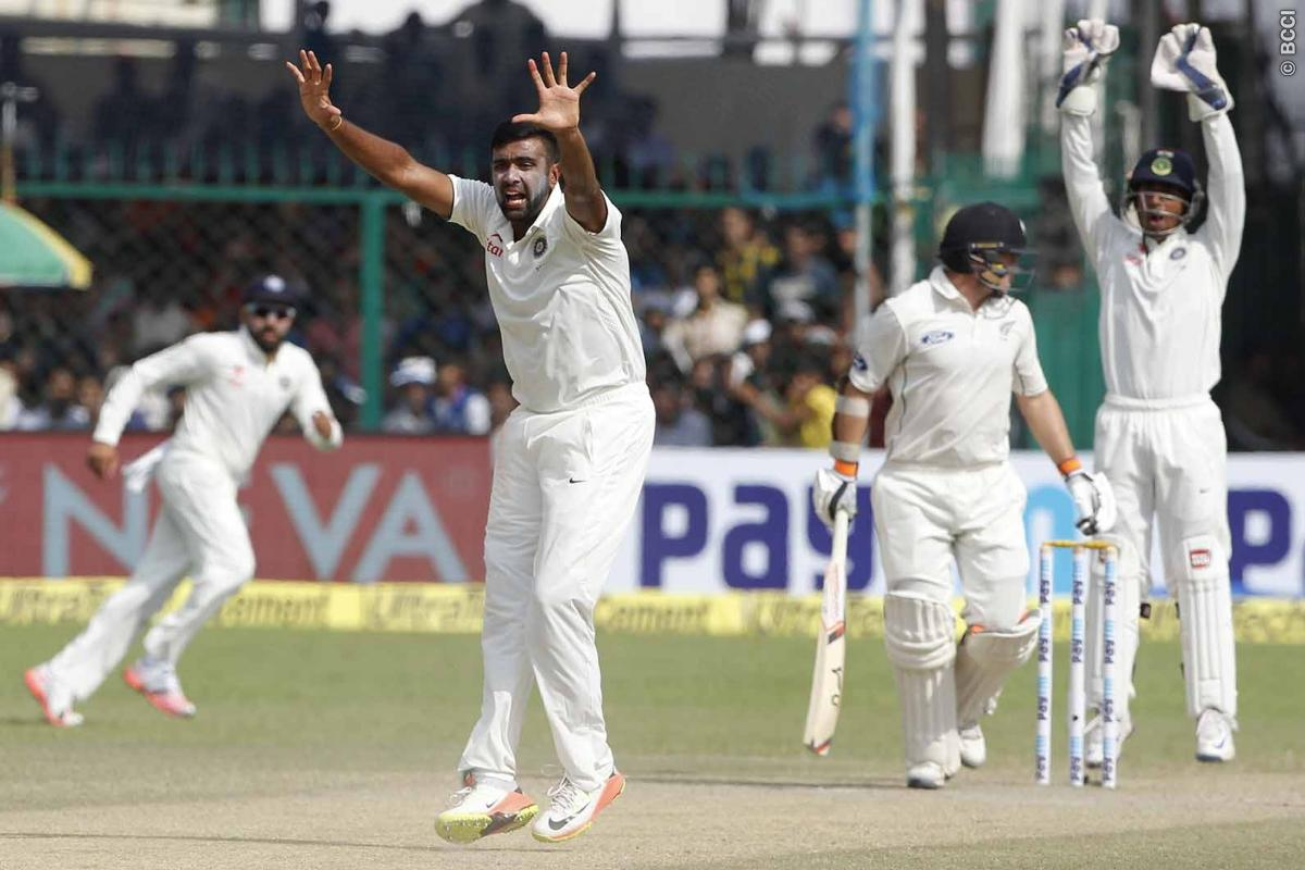 Ashwin sets India on course for huge win