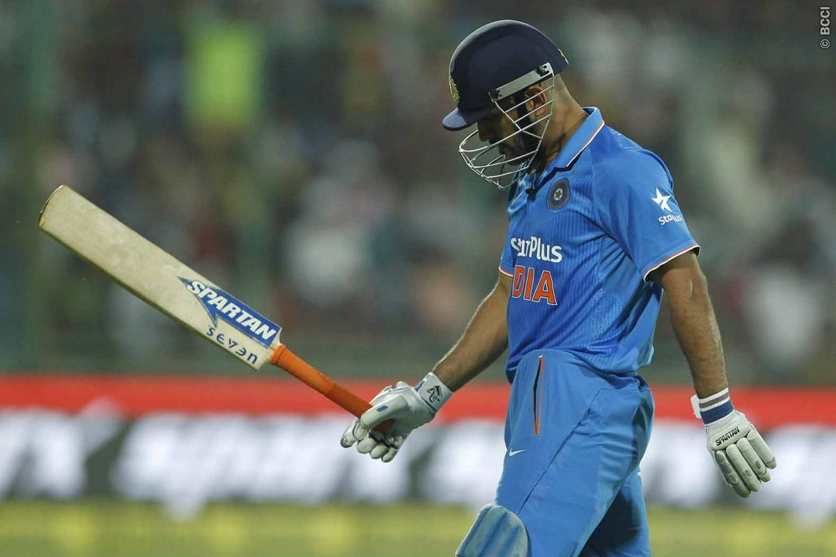 MS Dhoni: It Was The Responsibility of The Whole Batting Unit