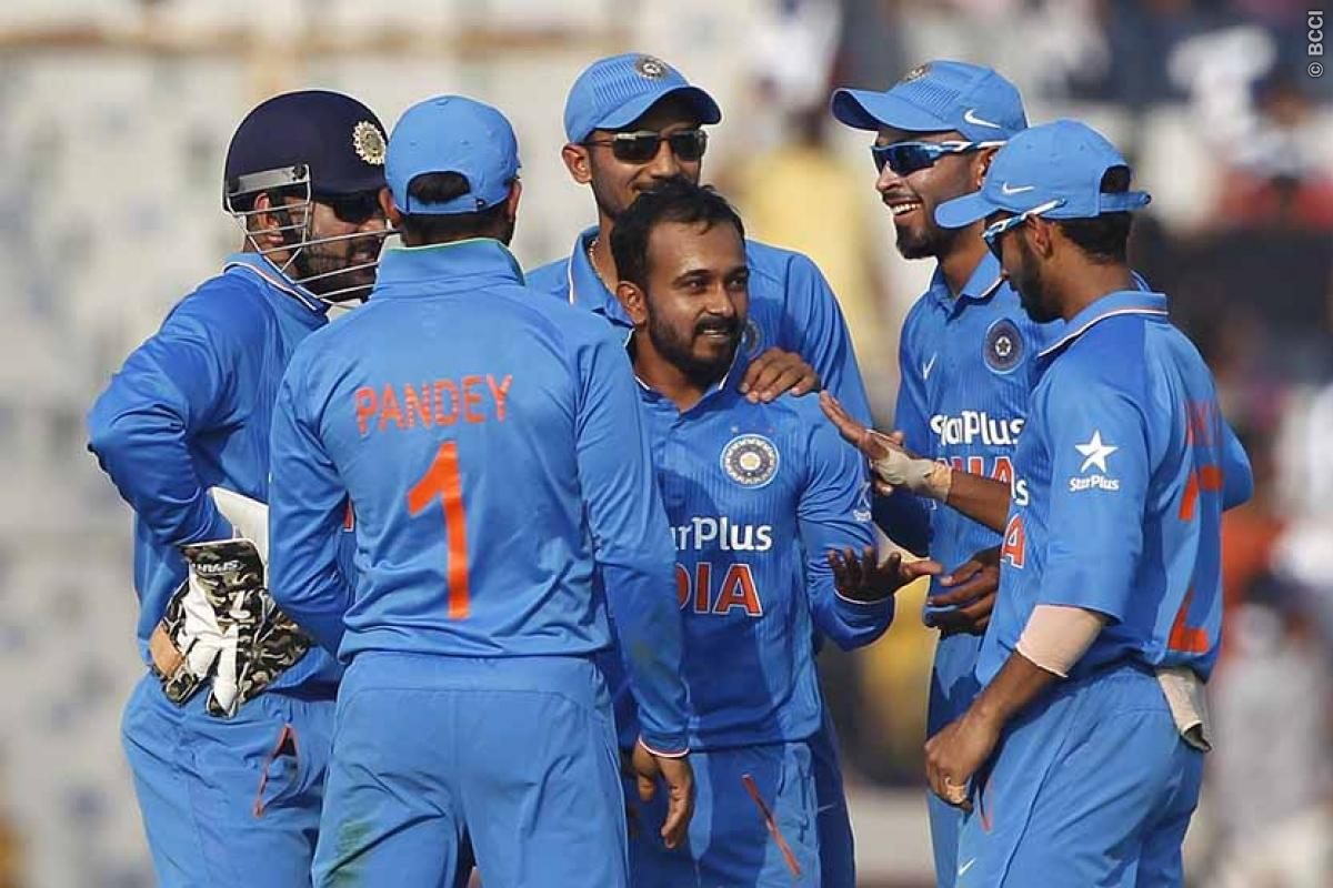 New Zealand vs India 2016: Indian Team Unchanged For Remaining Two ODIs
