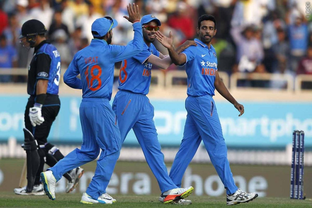 Live Score India vs New Zealand 4th ODI: Hosts Make Excellent Comeback