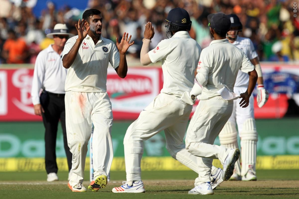 India vs England 2nd Test Day 2: Spinners Put Hosts in Complete Control