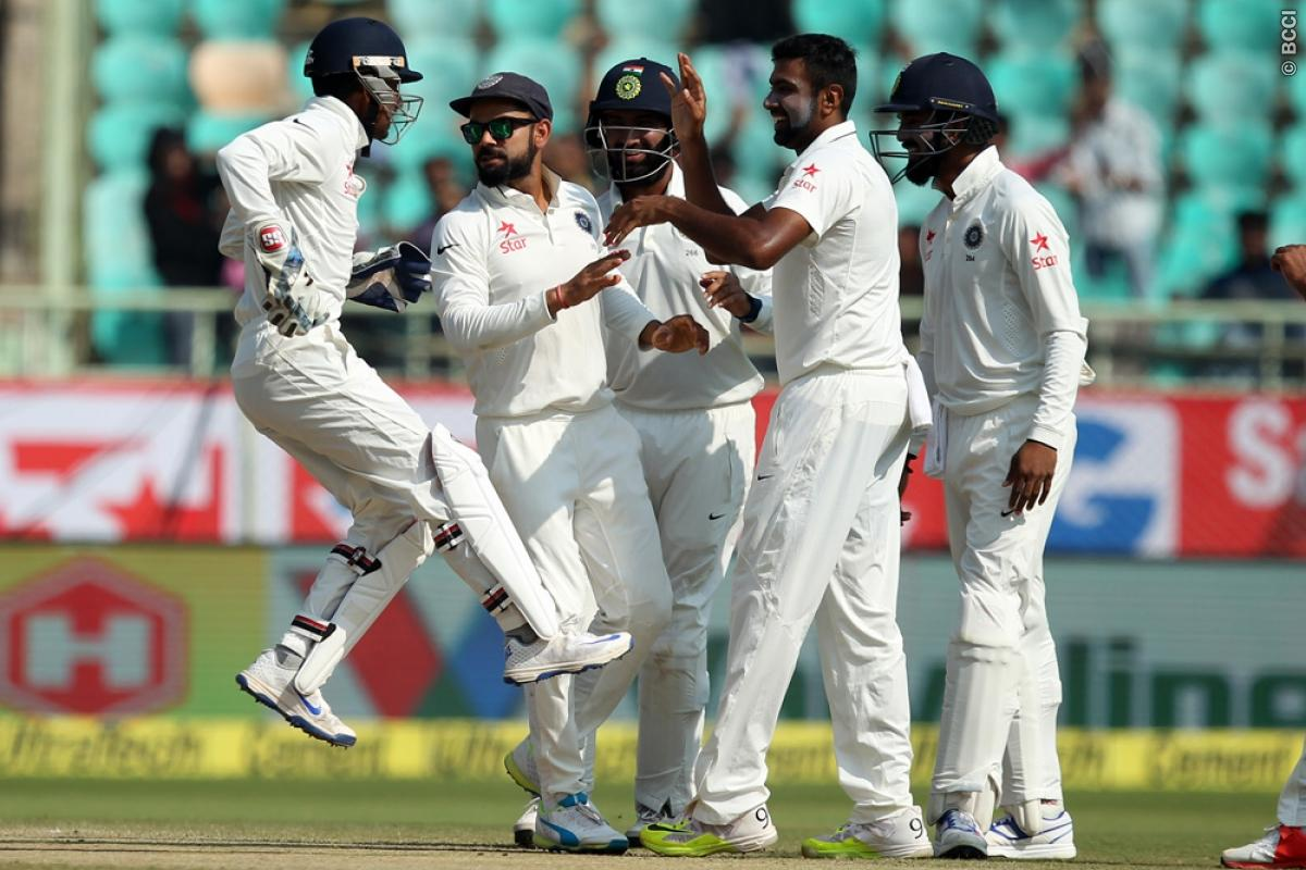 2nd Test Result: India Take Series Lead Over England With Convincing Win