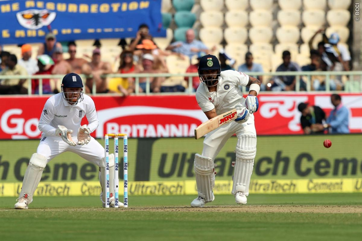 Live India vs England 2nd Test Score: Virat Kohli, Pujara Rebuilding for Hosts