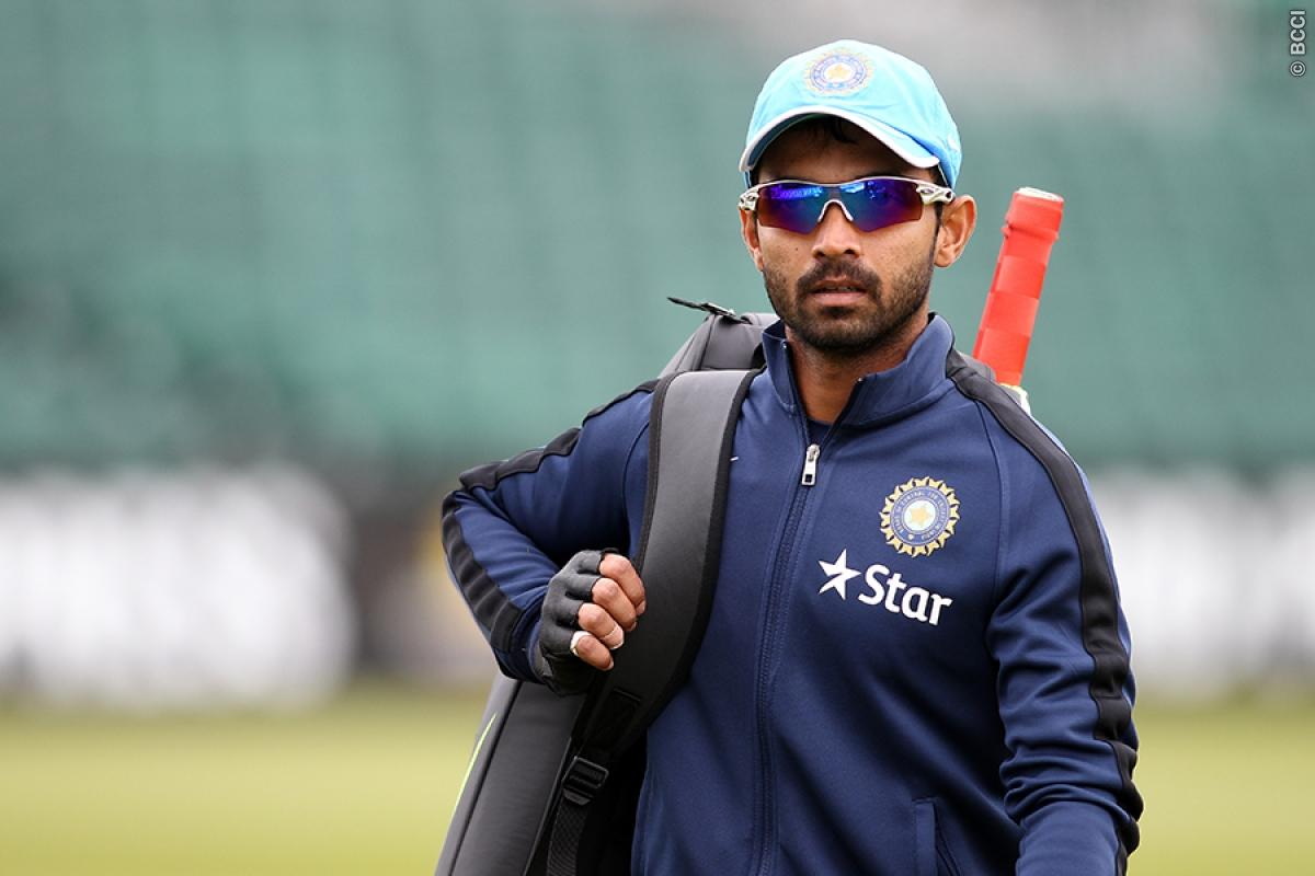 Ajinkya Rahane Out of Test Series; Manish Pandey Named Replacement