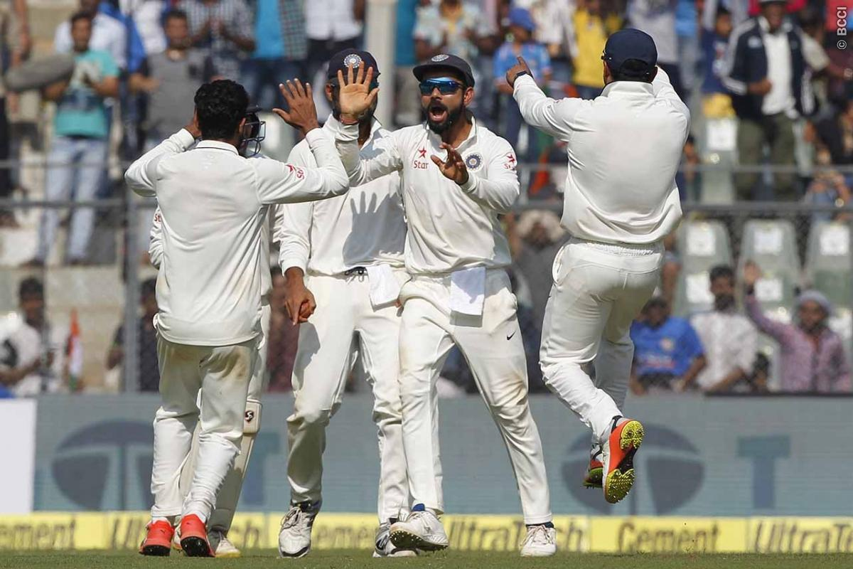 India vs England 4th Test Day 4: Virat Kohli's Men on a Brink of Victory