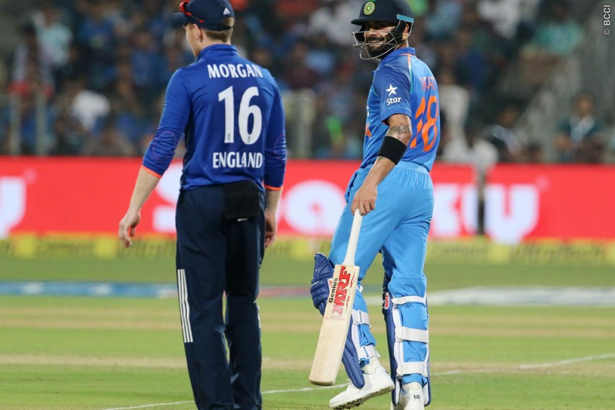 Eoin Morgan: India Gave No Chance in Tough Bowling Conditions