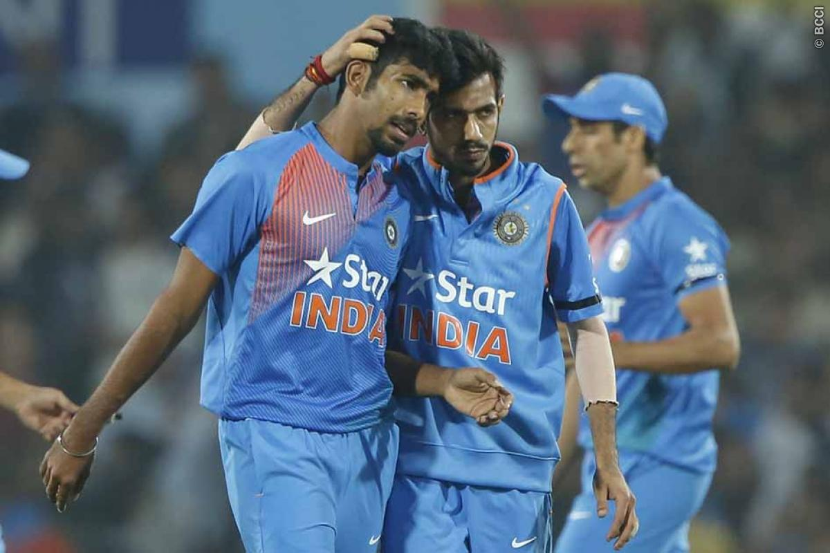 Indian Cricket Team Bowlers Came to the Party
