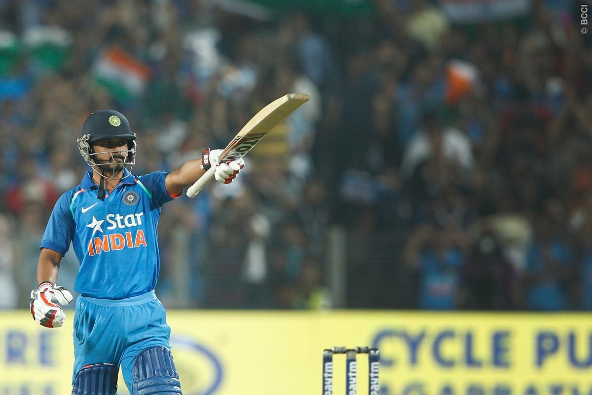 Kedar Jadhav Makes a Point with an Unbelievable Innings