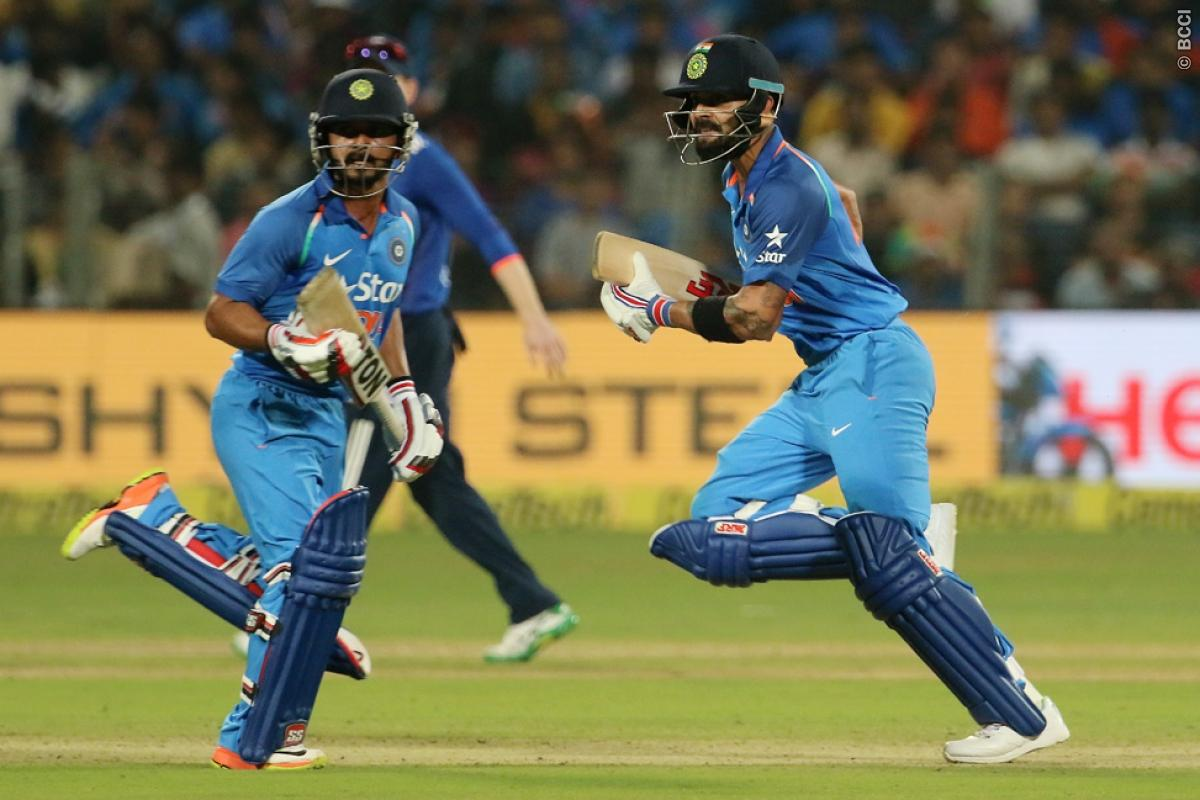 India vs England 1st ODI Result: Virat Kohli, Kedar Jadhav Take India to Win
