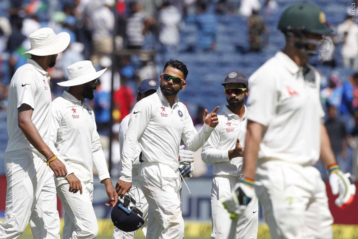 India vs Australia 1st Test Day 2 Live Score: Australia all out for 260 in 1st Innings