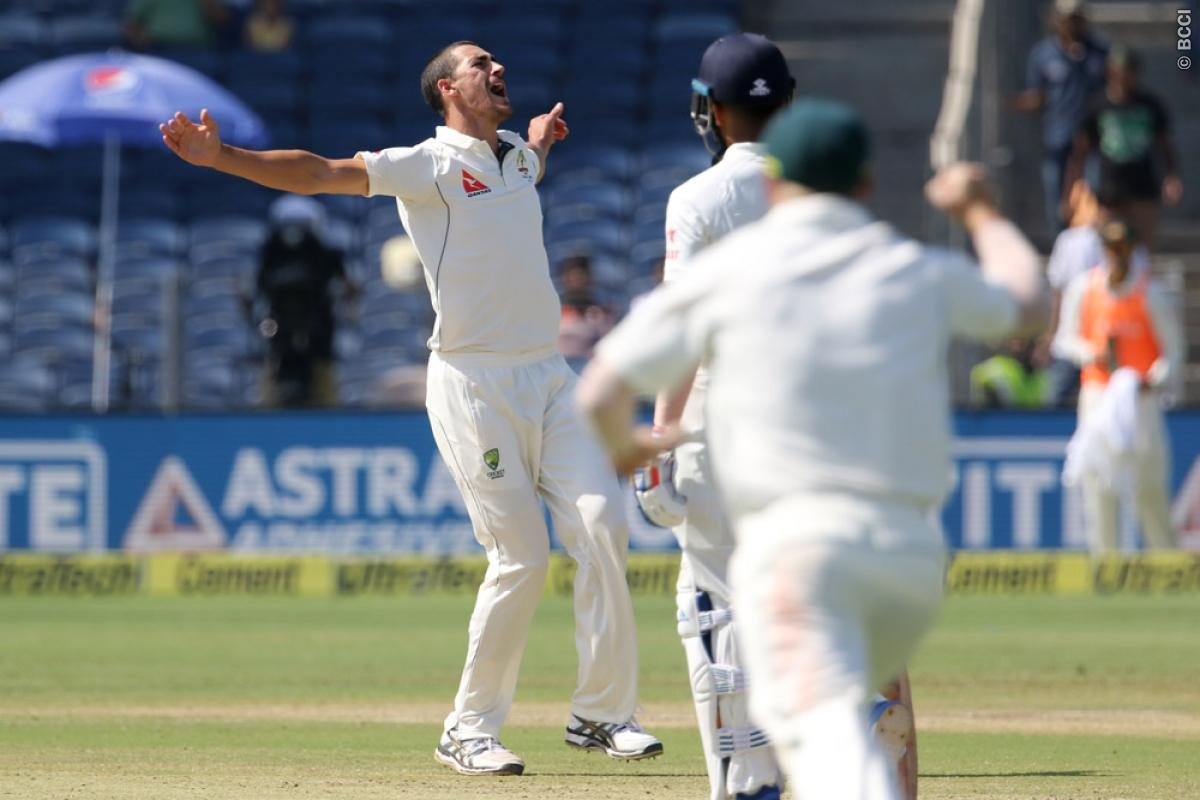 India vs Australia 1st Test: Hosts Lose Battle Against Quality Australian Bowling