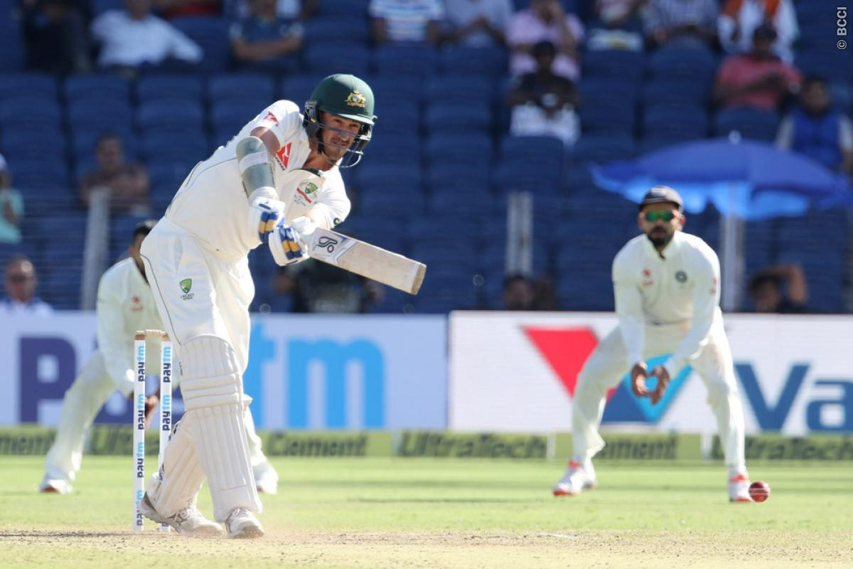 India vs Australia 1st Test Day 1: Mitchell Starc Frustrates Indians on Opening Day