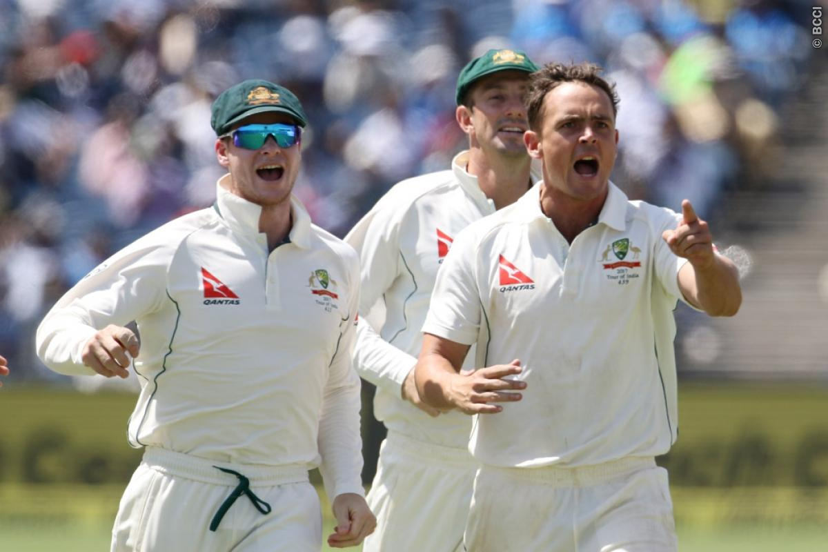 India vs Australia 1st Test Day 2 Live Score: Hosts Suffer Collapse on Crumbling Pitch