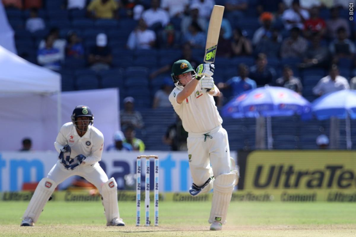 India vs Australia 1st Test Day 2: Steve Smith's Men Stretch Lead Close to 300