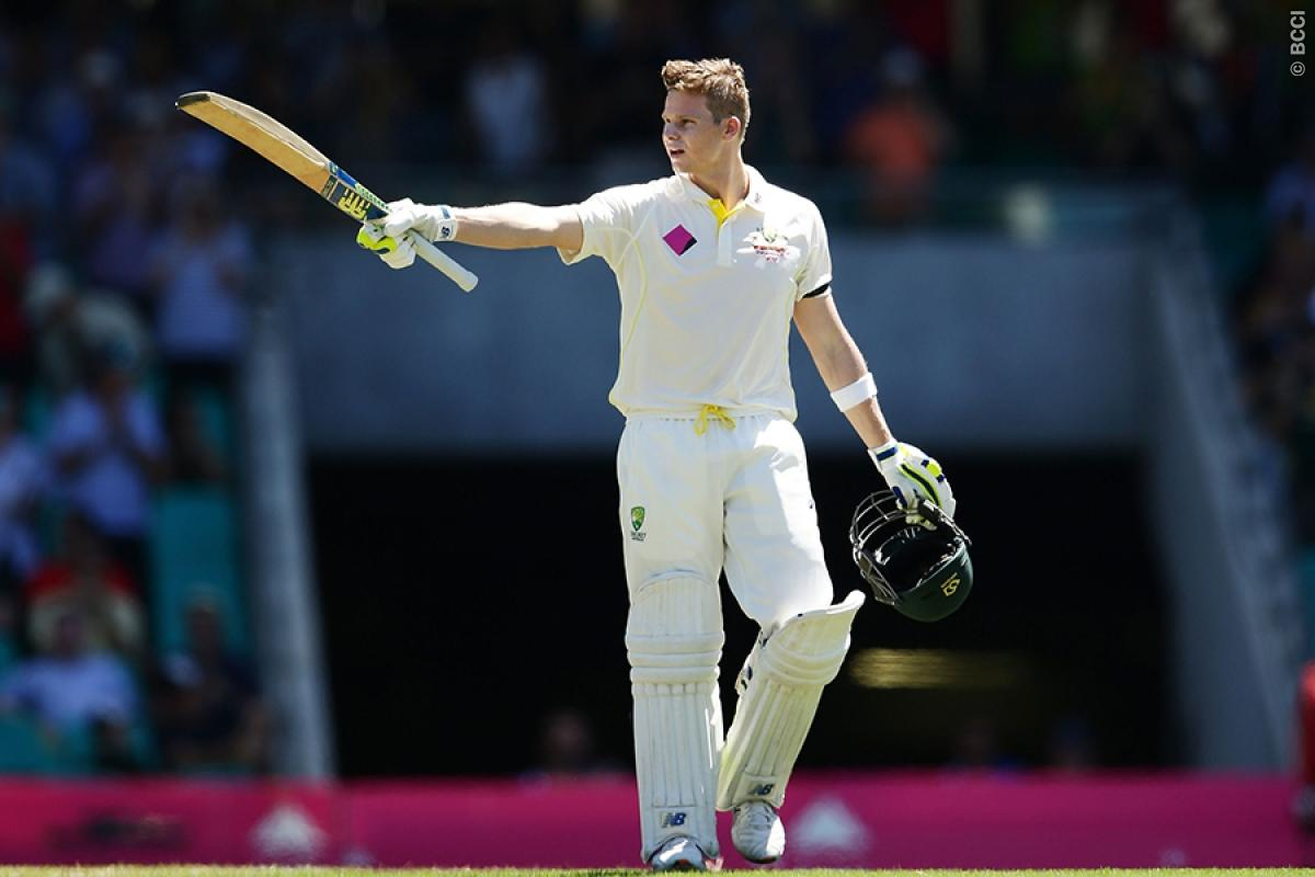 Steve Smith Makes Mark Ahead of Test Series Against India