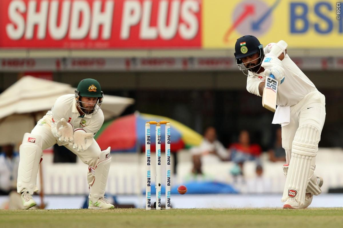 India vs Australia 3rd Test: Hosts Respond Well with Strong Reply