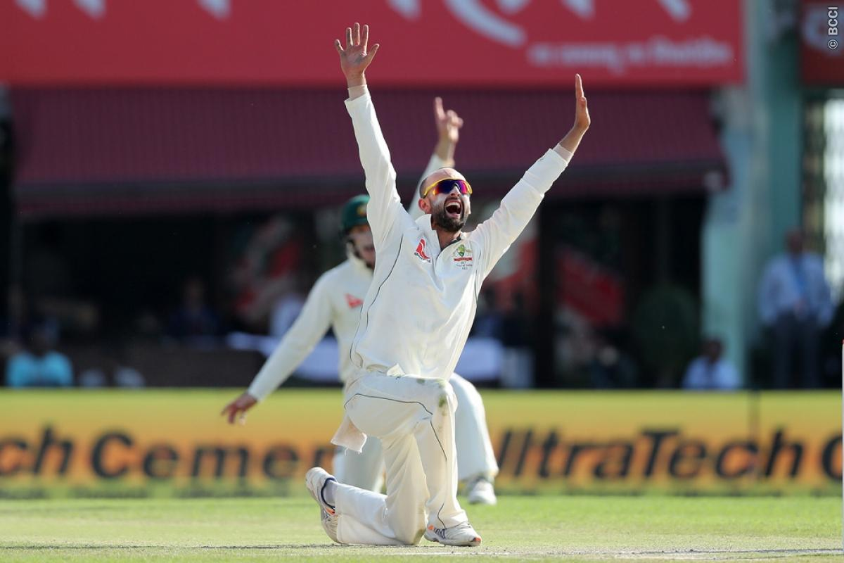 India vs Australia 4th Test Day 2: Nathan Lyon Pulls Aussies Back into the Game