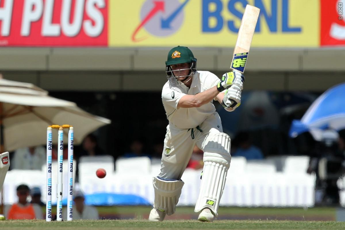 India vs Australia 3rd Test: Steve Smith Continues to Frustrate Hosts