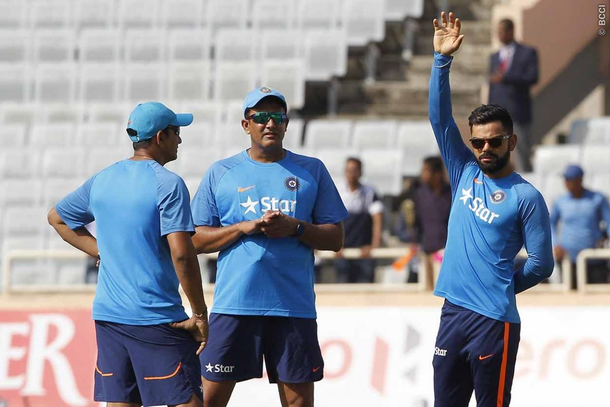 Virat Kohli Gives His Take on Anil Kumble's Resignation