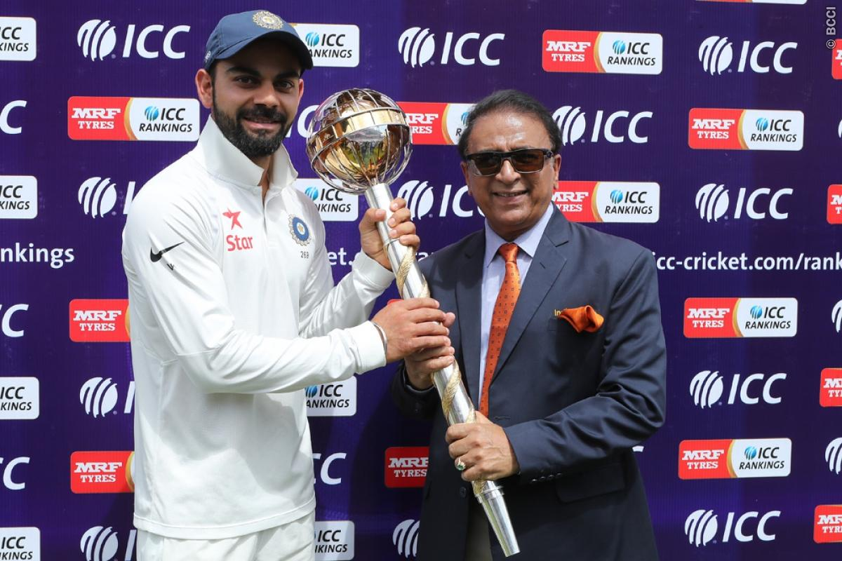 Indian Cricket Team Finishes Numero Uno in ICC Test Ranking