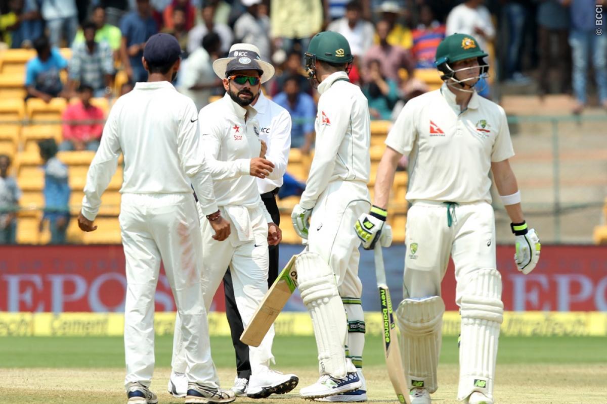 India vs Australia 2017: Aussies Crossed the Line on DRS in Bengaluru