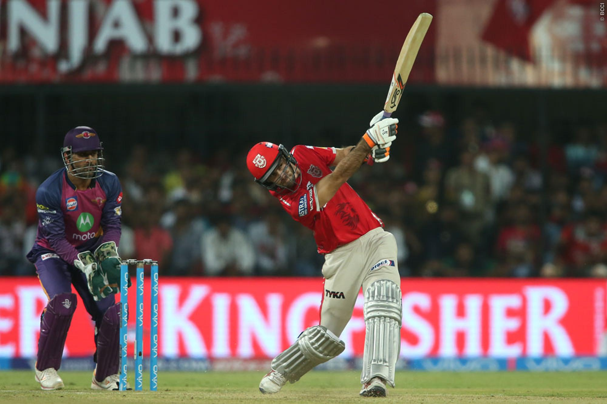 IPL 2017 Result: Glenn Maxwell Helps Kings XI in Beating Supergiants