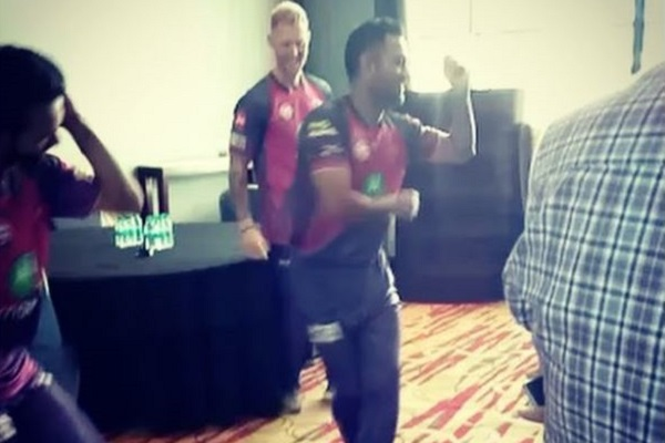 Watch MS Dhoni Showcasing his Dancing Skills in this Video