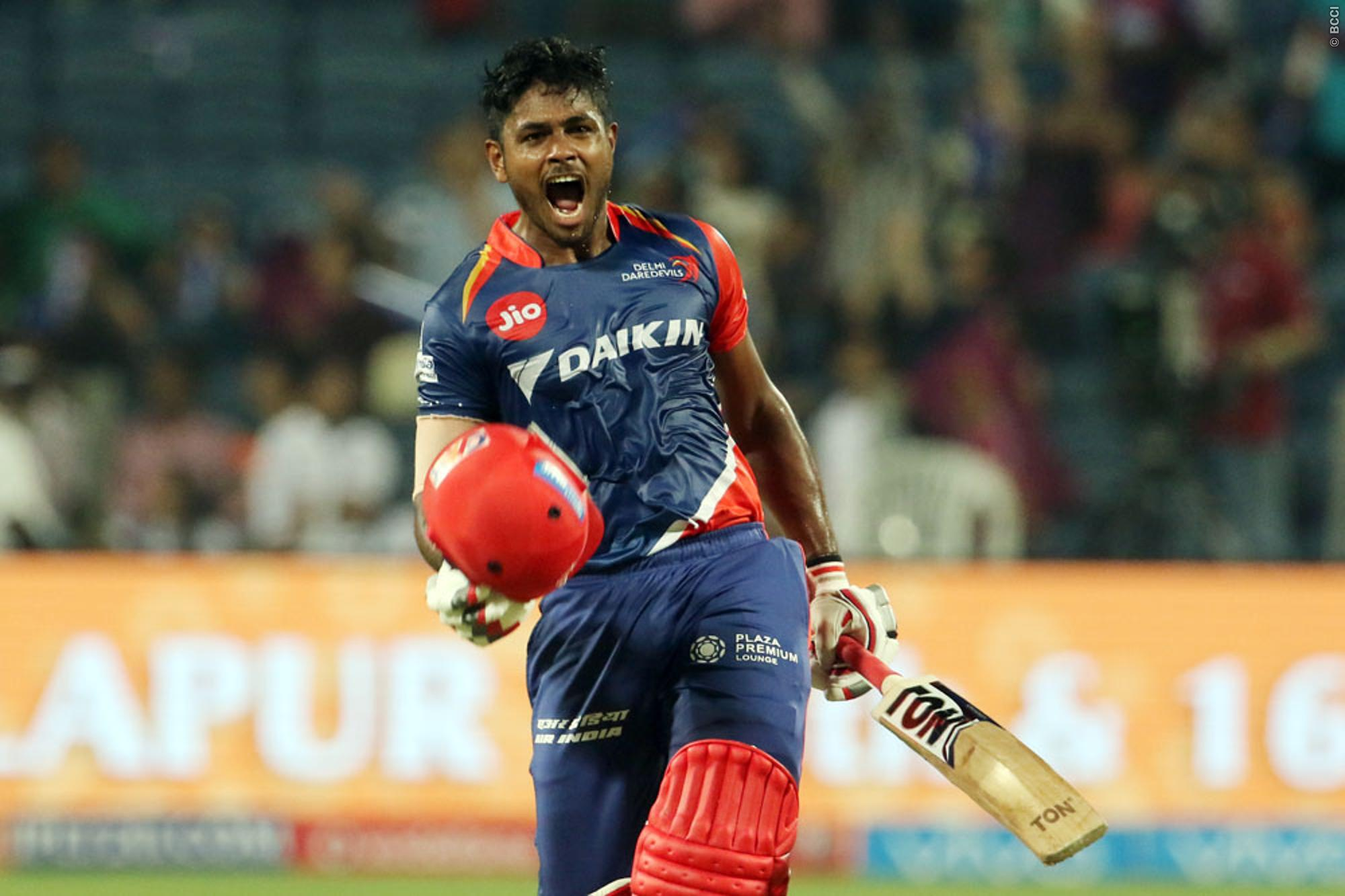 IPL 2017 Result: Sanju Samson Powers Delhi to Thumping Win