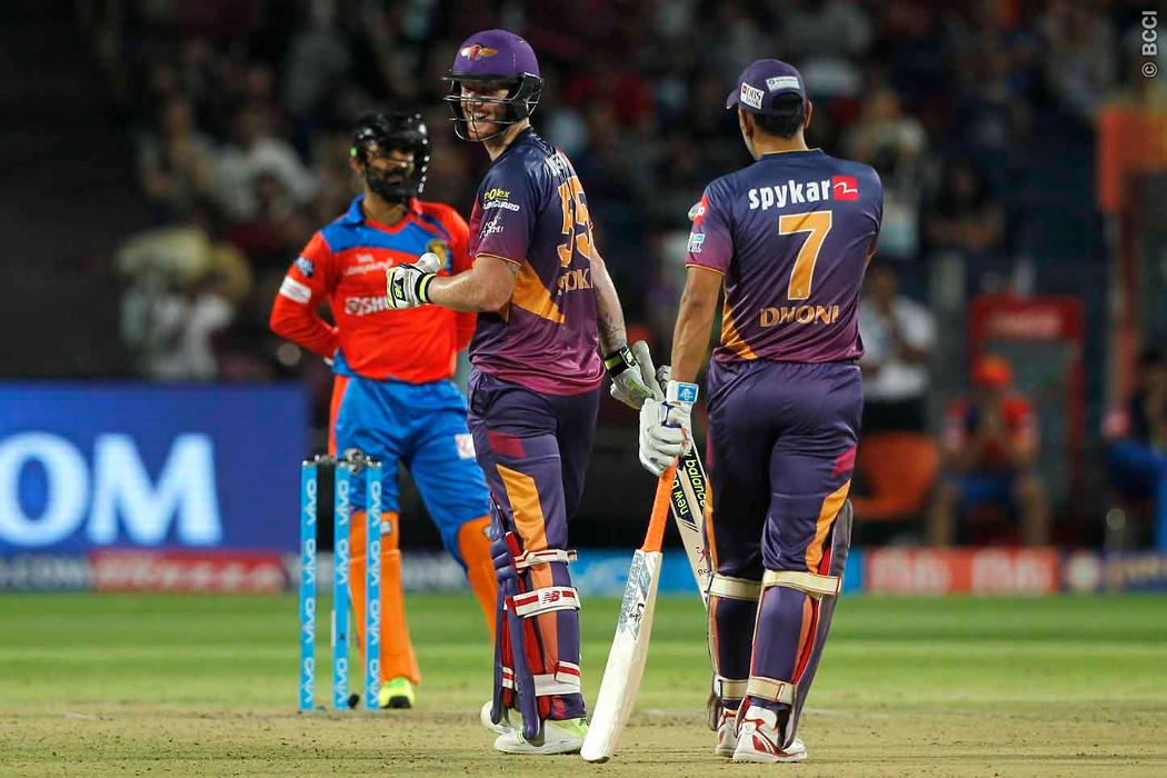 Dhoni, Stokes Dig Deep for Rising Pune Supergiants