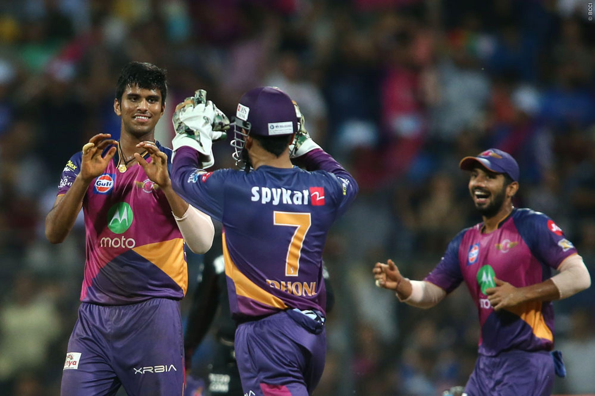 Washington Sundar Credits his Success to MS Dhoni